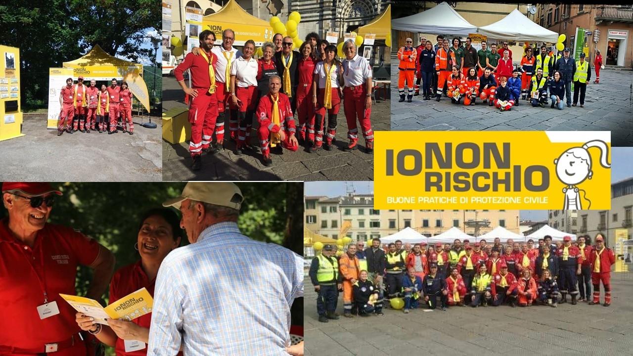 Io non rischio 2018 - Prato - Piazza Duomo 13 e 14 ottobre 2018