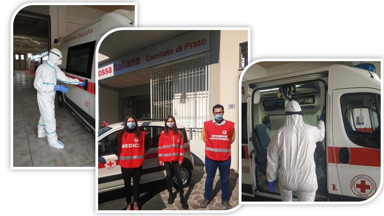 Covid-19  - Ambulanza dedicata e Tamponi a domicilio per Asl Toscana Centro