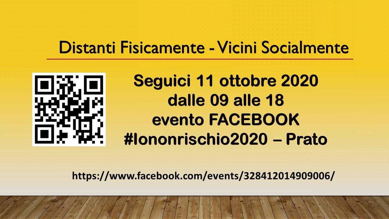 Link evento #iononrischio2020