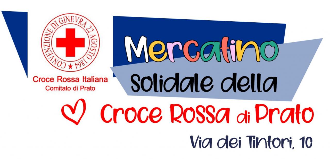 Mercatino Solidale C.R.I.   - Nuova sede Via Tintori 10 - Prato